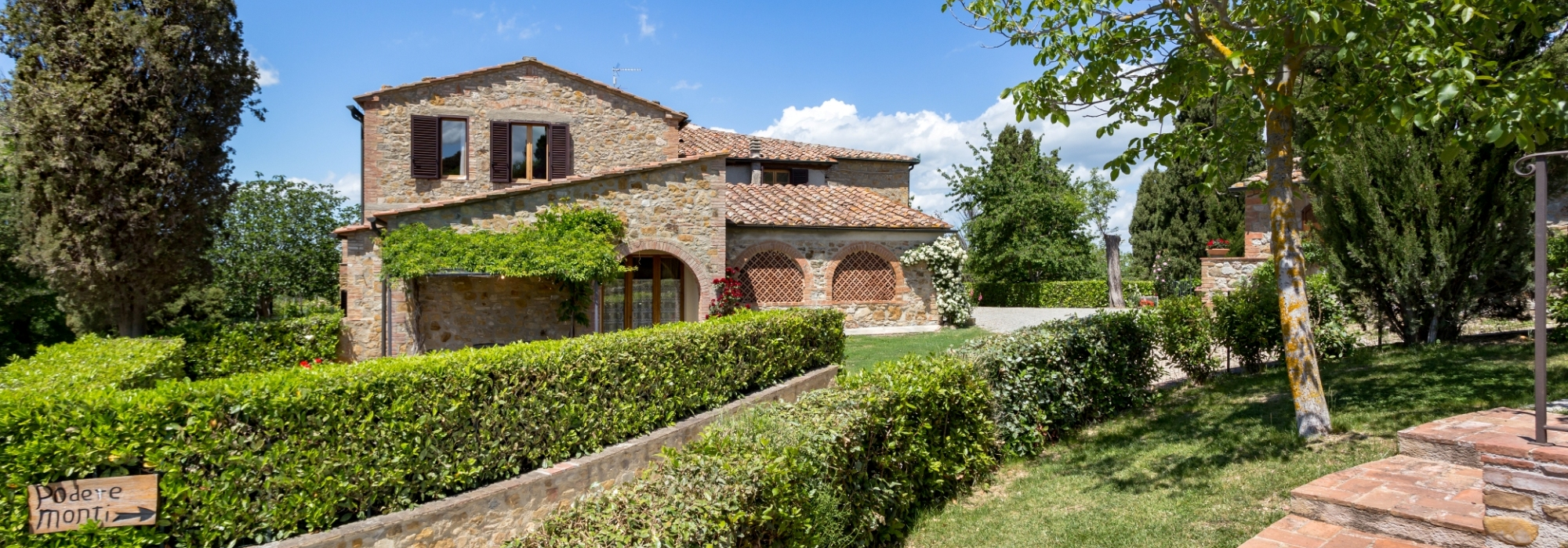 Farm Holiday house in Tuscany Podere Monti Casole d\'Elsa Siena